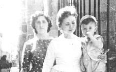 Retrato de grupo en San Agustín en 1959