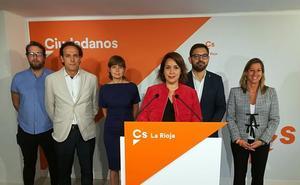 Alonso insiste en el compromiso de Cs para sacar a La Rioja del estancamiento
