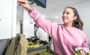 El Sagasta cambia el 'vending' por fruta