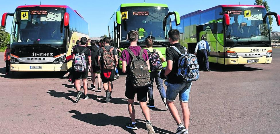 Once alumnos de la concertada, sin plaza en la ruta escolar para ir a Calahorra