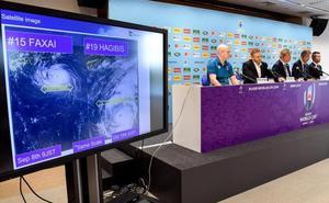El tifón 'Hagibis' sacude el Mundial