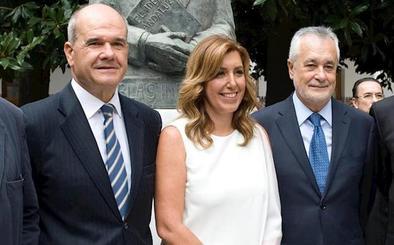 Díaz, Chaves, Griñán y Montero declararán en vísperas del 10-N sobre el uso de fondos públicos en prostíbulos