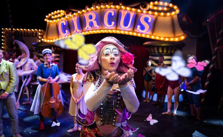 Circlássica, un espectáculo de Emilio Aragón que es un homenaje al circo en Riojafórum