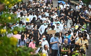 Casi un tercio de los detenidos en Hong Kong es menor de edad