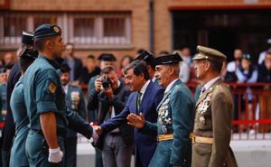 «El progreso de la sociedad no se entendería sin la Guardia Civil»