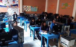 El 'campus solidario' forma a jóvenes de Perú