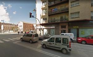 Un vecino de Fuenmayor, herido en un accidente en Logroño