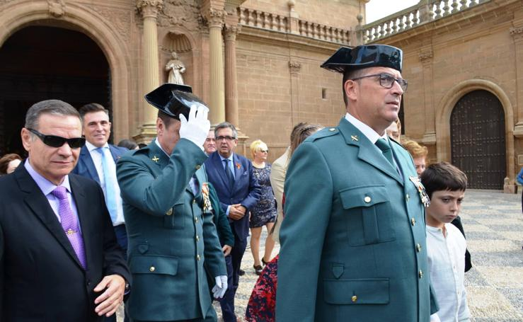 Fiesta de la Guardia Civil en Calahorra