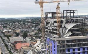 Un hotel se derrumba en Nueva Orleans dejando un muerto y tres desaparecidos