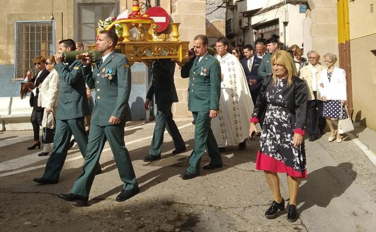 Celebración del día del Pilar en Arnedo