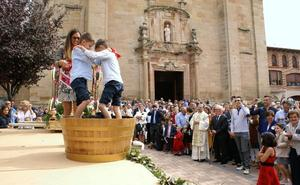 Huércanos honró a la Virgen del Pilar