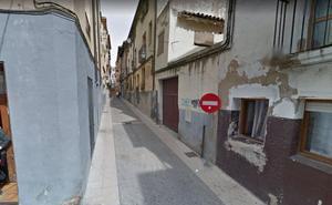 Incendio en una vivienda en Calahorra