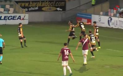 Vídeo: los tres goles en Lasesarre