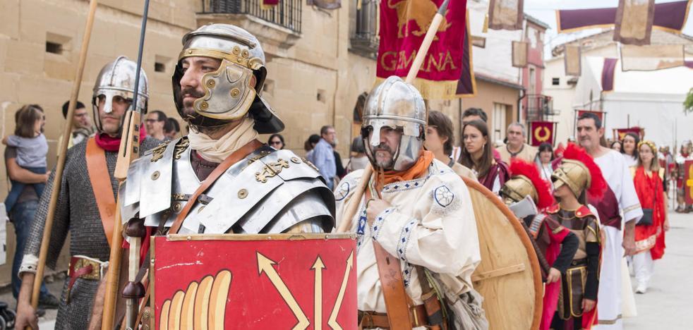 Romanos y berones cierran con un desfile las XV Jornadas culturales de Herramélluri