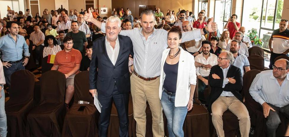 Ortega Smith pide a los riojanos su apoyo a VOX el 10N, «el único voto útil en esta región»