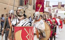 Romanos y berones cerraron con un desfile las XV Jornadas culturales de Herramélluri