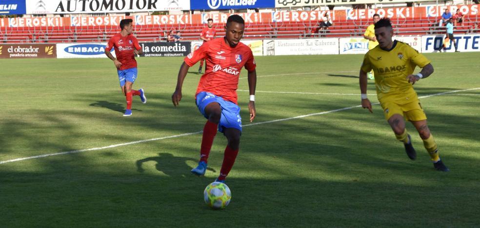 El Calahorra B iguala dos goles ante el Yagüe en un emocionante final de partido