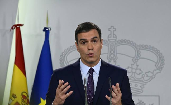 Sánchez garantiza el «cumplimiento íntegro» de la sentencia del Supremo