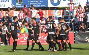 La UD Logroñés recupera su ritmo más goleador
