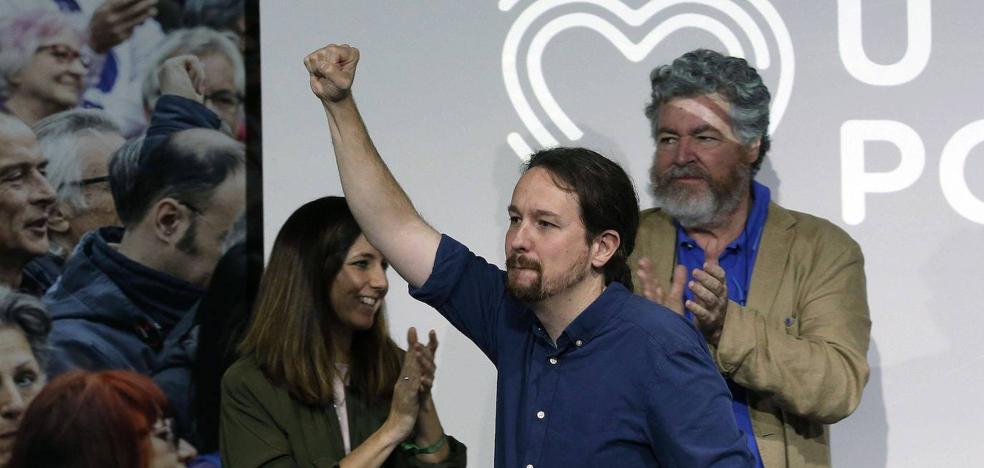 Iglesias agita la sospecha de una 'gran coalición': «Usan Cataluña como excusa»