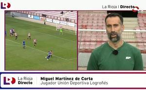 Miguel Martínez de Corta: «Sigo tranquilo, recupérandome bien»