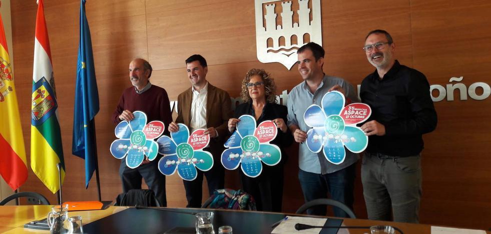 Marcha Aspace: solidaridad, deporte y amistad