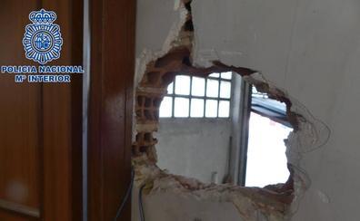 Detenidos dos 'butroneros' que se llevaron la caja de una empresa de Logroño