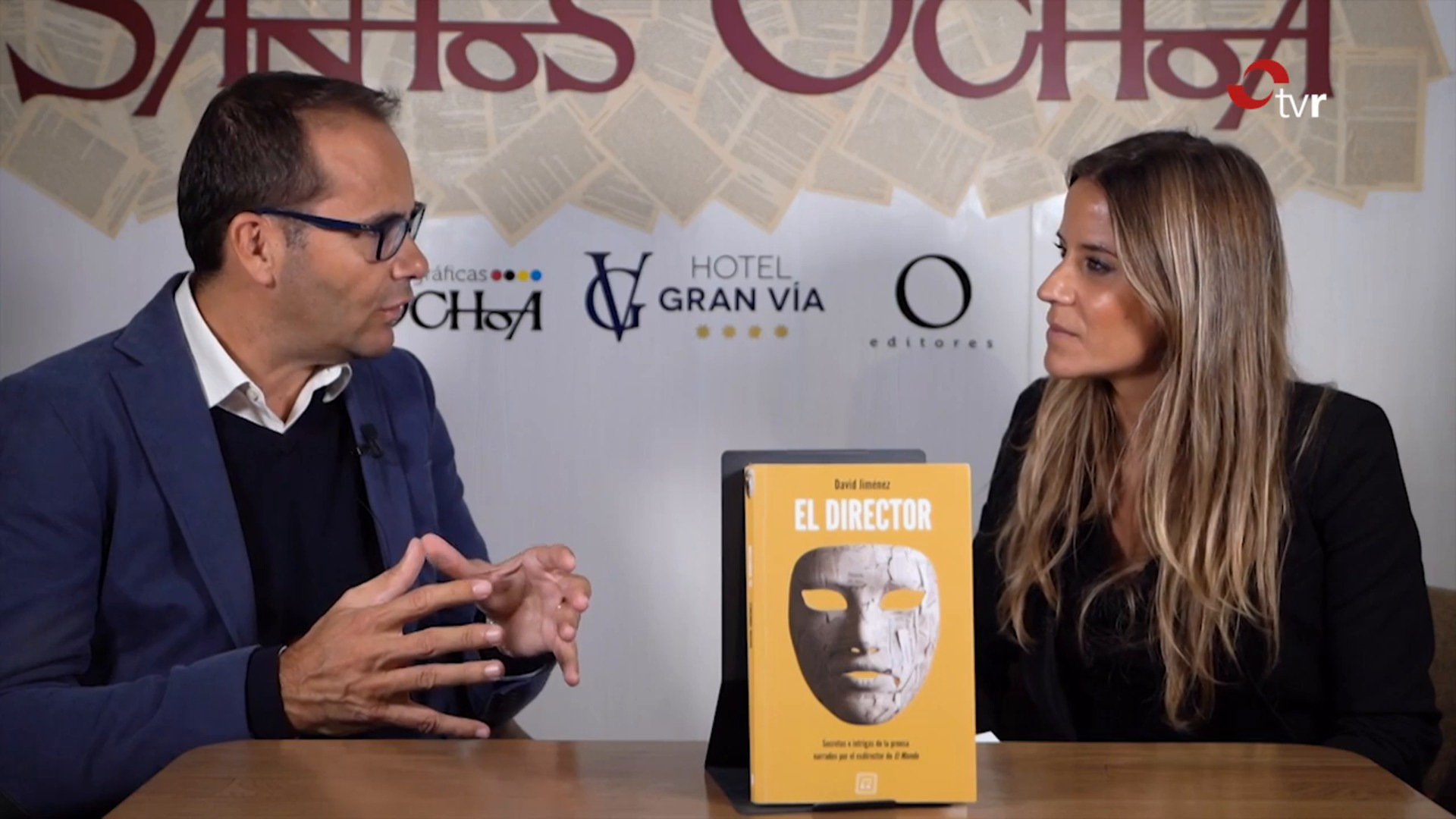 David Jiménez nos presenta «El Director»