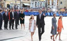 Doña Leonor llega a Oviedo en sus primeros Premios Princesa de Asturias