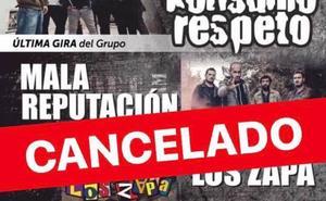 Evento cancelado: Konsumo Respeto, Mala Reputación y Los Zapa en Aldeanueva de Ebro