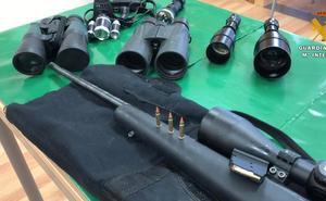 El Seprona denuncia a dos personas por caza furtiva en Autol