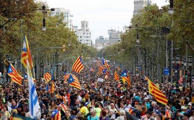 Directo | La Policía Nacional carga contra los estudiantes en Barcelona
