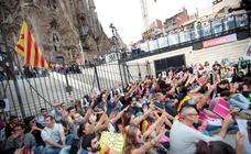 Huelga general en Cataluña