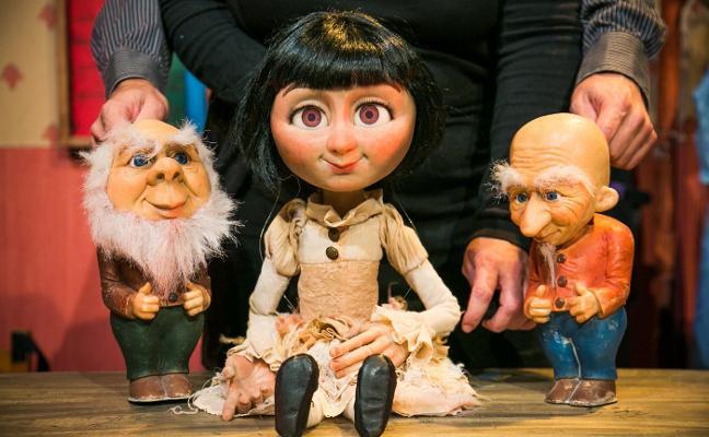 Tropos presenta hoy su personal versión de 'Blancanieves' en Teatrea