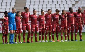 El fútbol femenino, cerca del plante