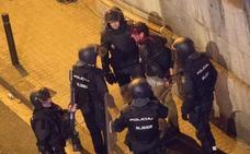 Los jueces han encarcelado a 18 violentos desde que comenzaron los disturbios en Cataluña