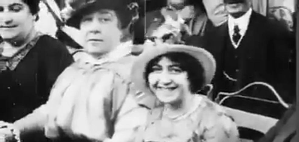 Logroño en 1914: las primeras escenas filmadas en la capital riojana