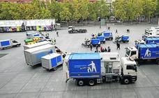 Logroño renueva 46 vehículos de limpieza y 2.200 contenedores de recogida de residuos