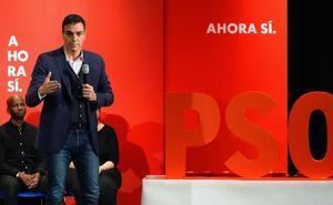 Sánchez acusa a PP y Cs de «achantarse» frente a un Vox «envalentonado»