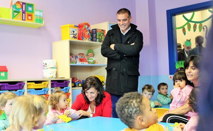 Inauguración de la escuela infantil Gloria Fuertes de Fuenmayor