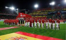 Las mejores imágenes del España-Malta