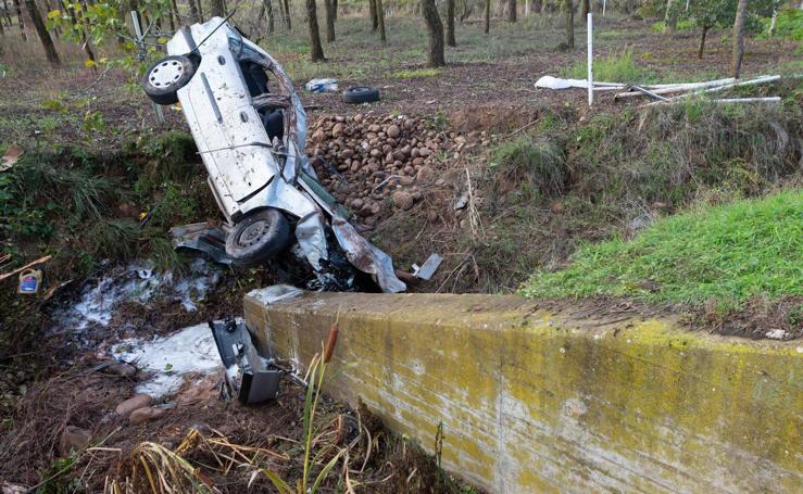 Un hombre fallece en un accidente en Entrena