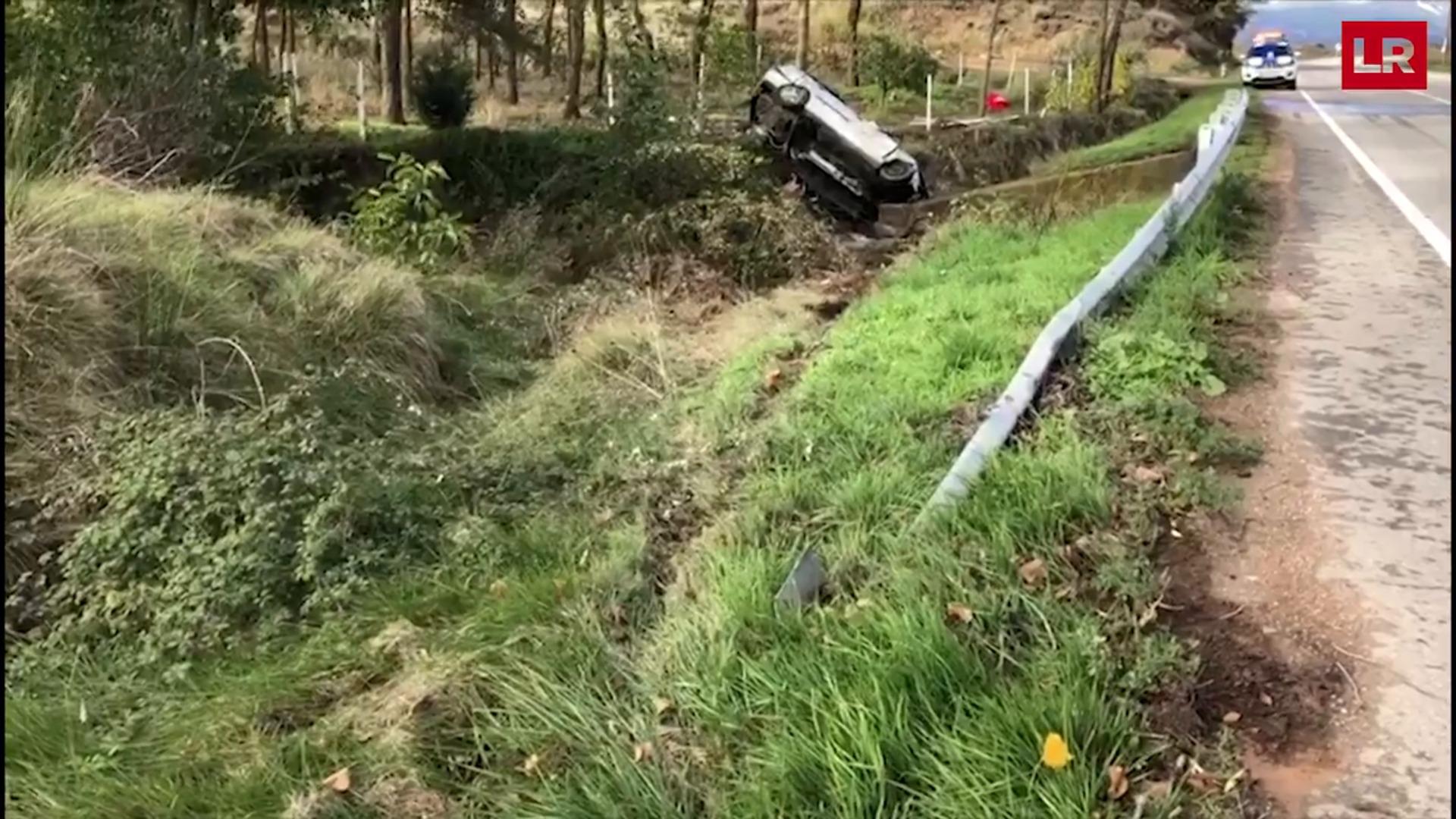 Un fallecido en un accidente entre Entrena y Navarrete