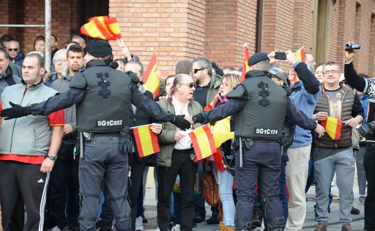 Manifestación en Calahorra a favor de los presos de Alsasua