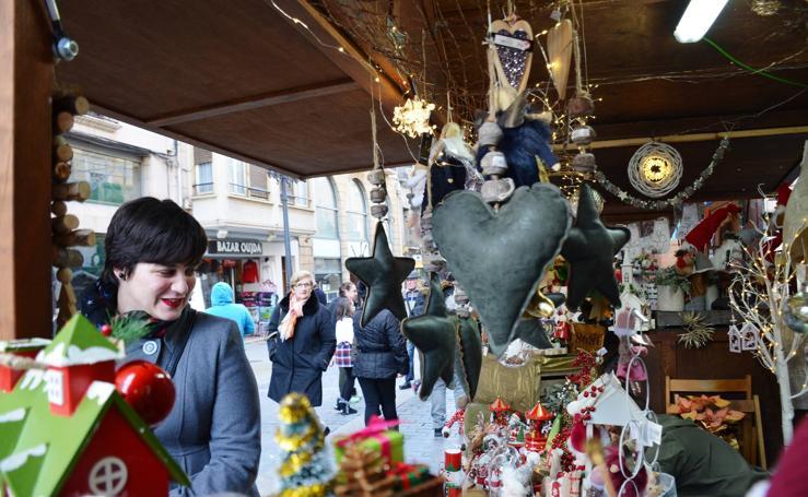 Calahorra ha inaugurado su mercado de Navidad