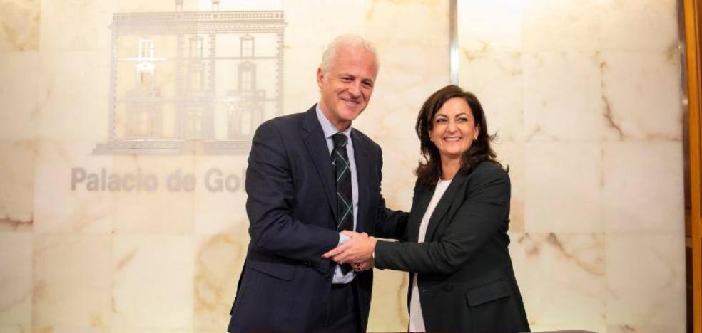 Andreu compromete apoyo financiero a Hermoso de Mendoza más allá de la 'capitalidad'