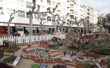 Calahorra inaugura esta tarde el belén del Mercadal y el alumbrado navideño