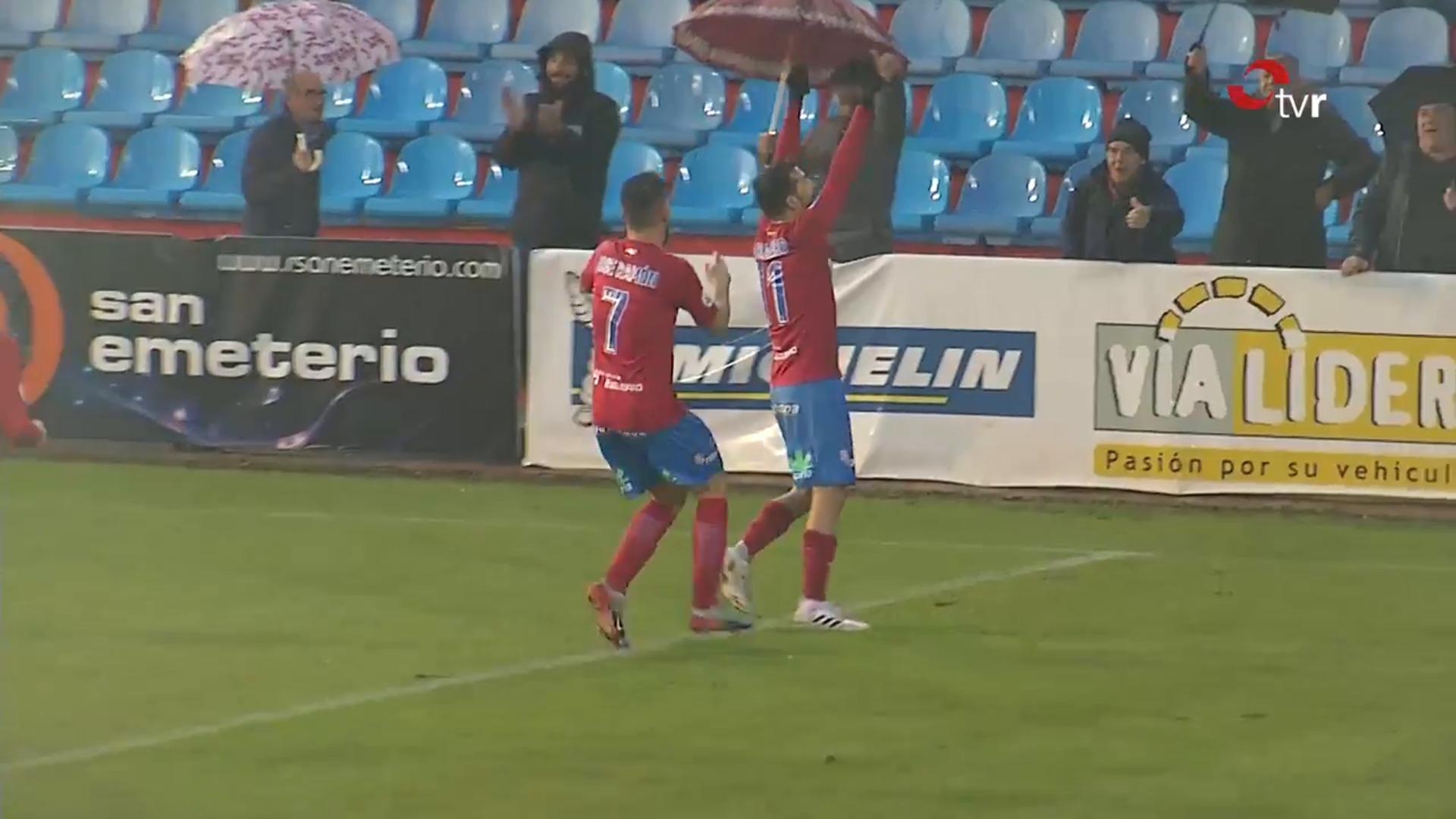 Los goles del Calahorra-Tudelano