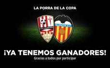 Ya tenemos ganadores de la porra del UDL-Valencia