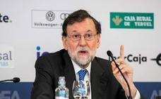 Rajoy evita responder sobre su posible candidatura a la Federación de Fútbol